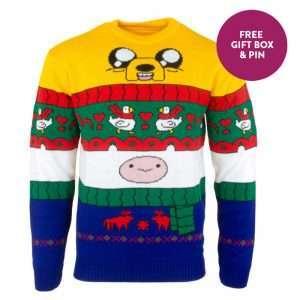 Adventure Time Finn & Jake Christmas Jumper / Ugly Sweater
