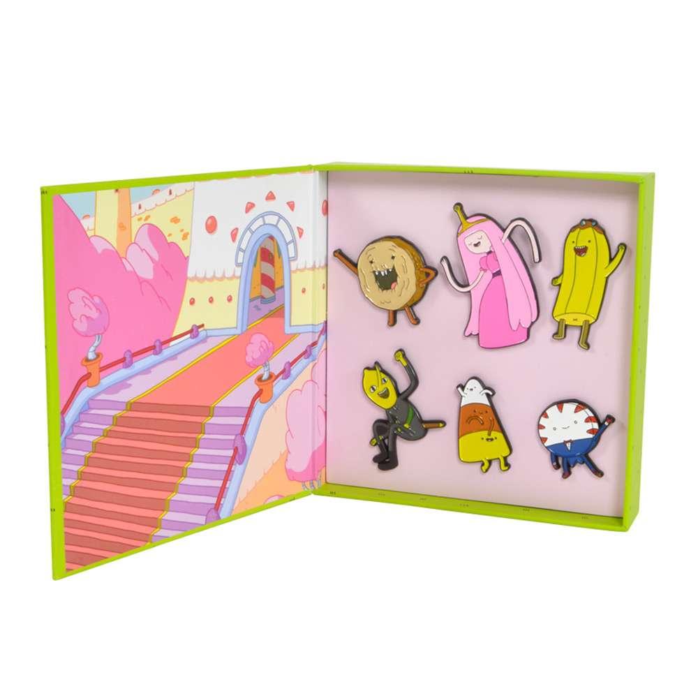 Adventure Time Candy Kingdom Pin Badge Set