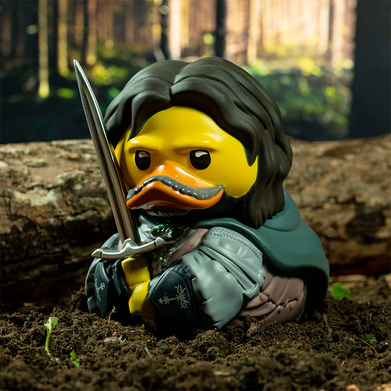Lord Of The Rings Aragorn TUBBZ Cosplaying Duck Collectible
