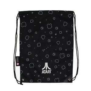 Asteroids Artwork Drawstring Bag