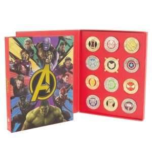Avengers Pin Badge Set