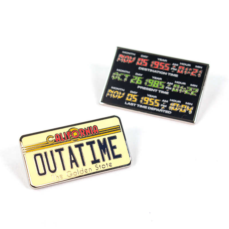 Pin Kings Back to the Future Enamel Pin Badge Set 1.3