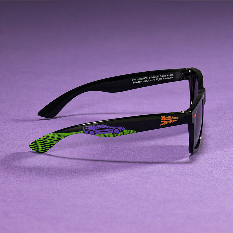 Official Back To The Future Japanese Style Sunglasses