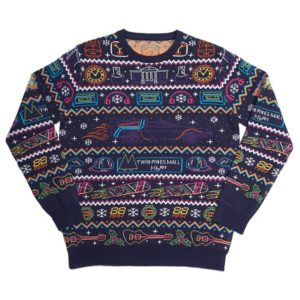 Official Back To The Future Christmas Jumper / Ugly Sweater