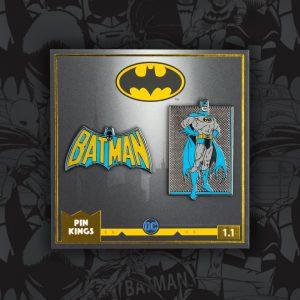 Pin Kings DC Comics Batman Enamel Pin Badge Set 1.1
