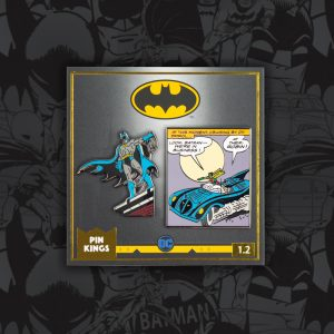 Pin Kings DC Comics Batman Enamel Pin Badge Set 1.2