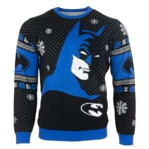 Batman 'In The Shadows' Christmas Jumper / Ugly Sweater