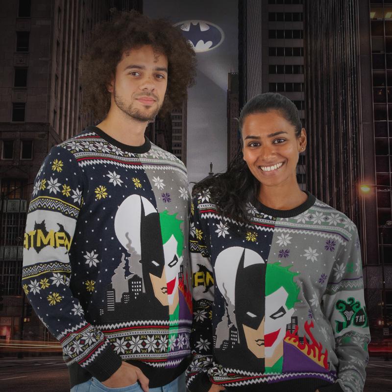 Batman vs. The Joker Christmas Jumper / Ugly Sweater