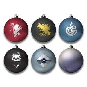 Destiny 2 Christmas Decorations / Ornaments