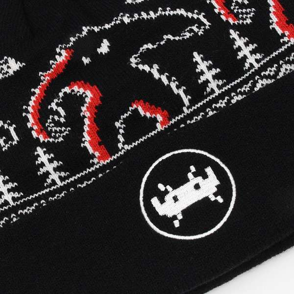 Space Invaders Monster Beanie