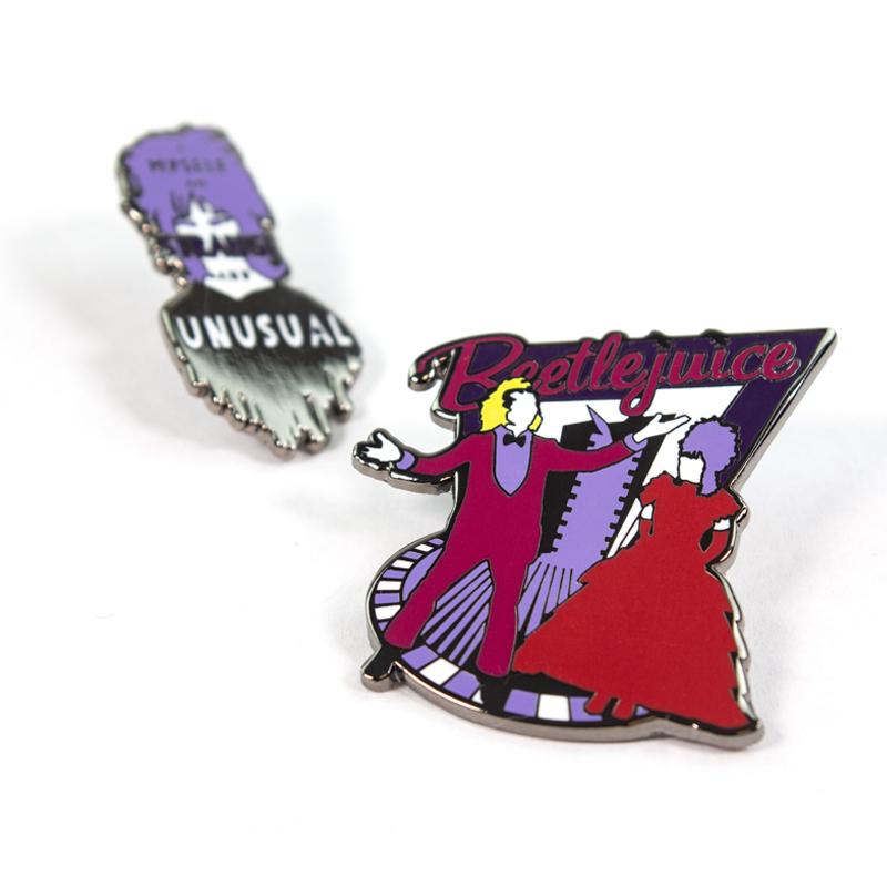 Pin Kings Beetlejuice Enamel Pin Badge Set 1.1