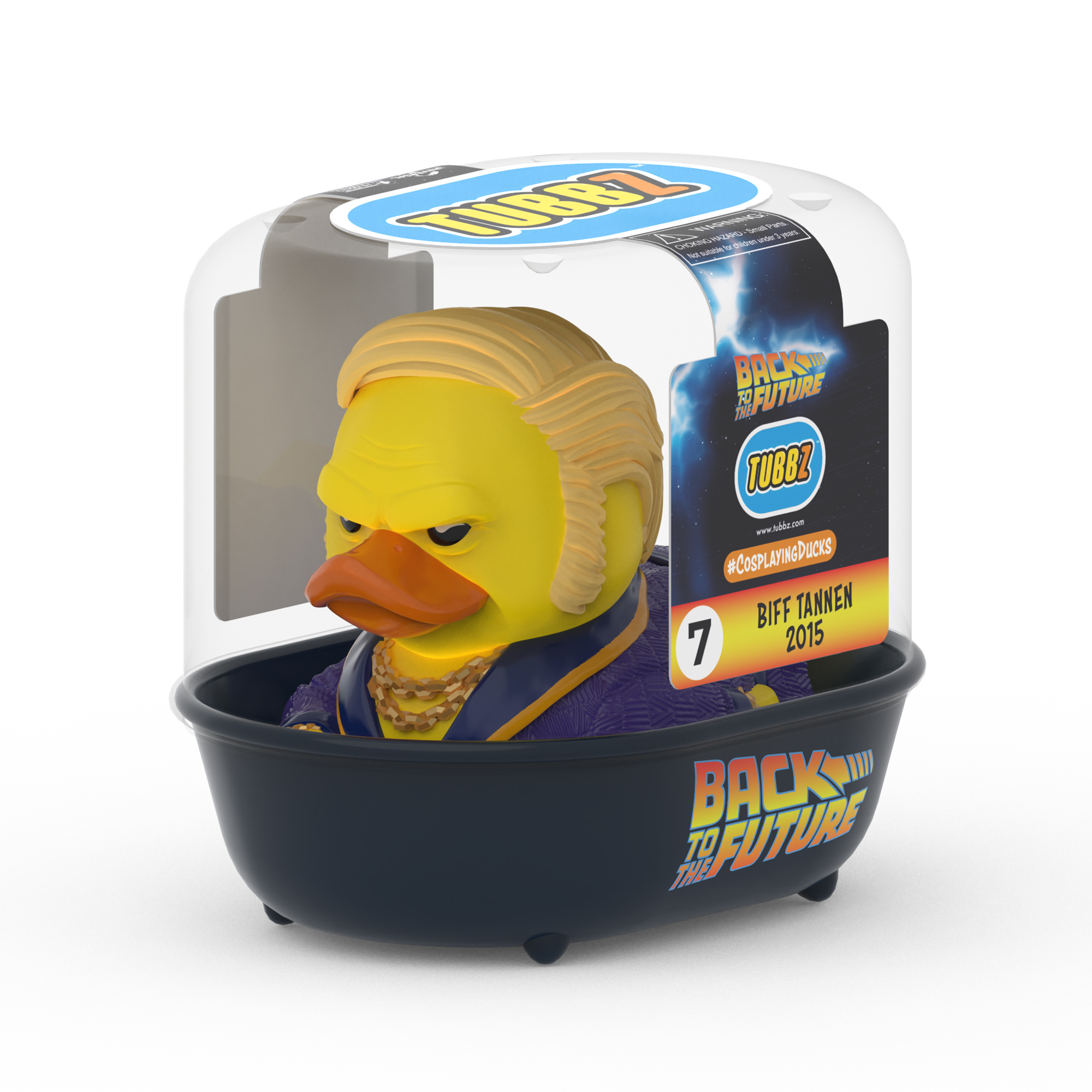 Back To The Future Biff Tannen 2015 TUBBZ Cosplaying Duck Collectible