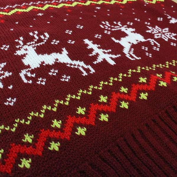 Street Fighter Blanka Vs. M.Bison Christmas Jumper / Ugly Sweater