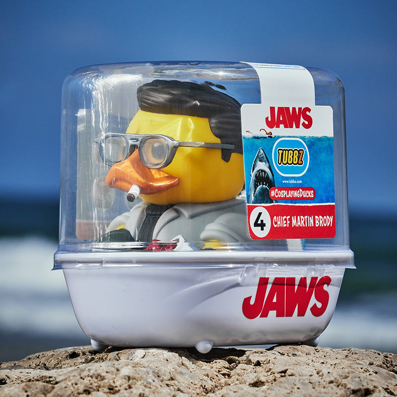 Jaws Martin Brody TUBBZ Cosplaying Duck Collectible