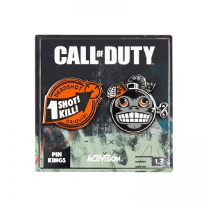 Pin Kings Call of Duty Enamel Pin Badge Set 1.3
