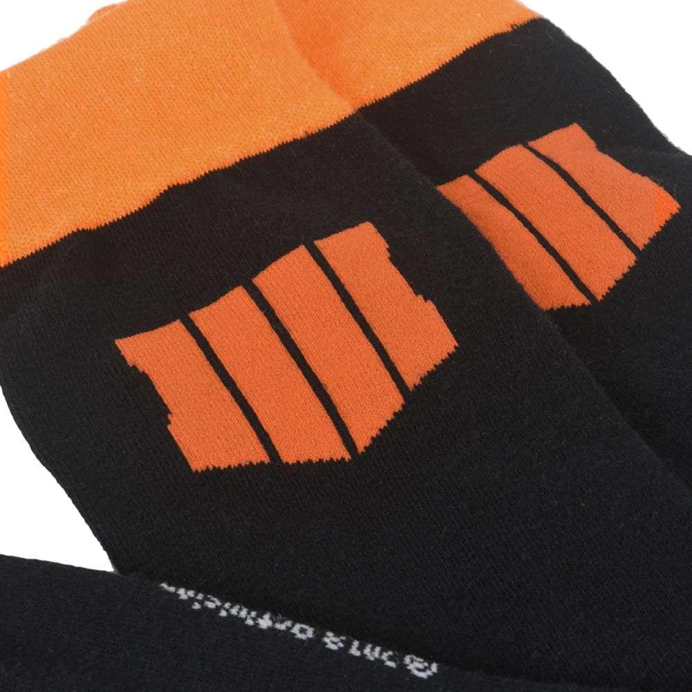 Call of Duty Black Ops 4 Orange Socks