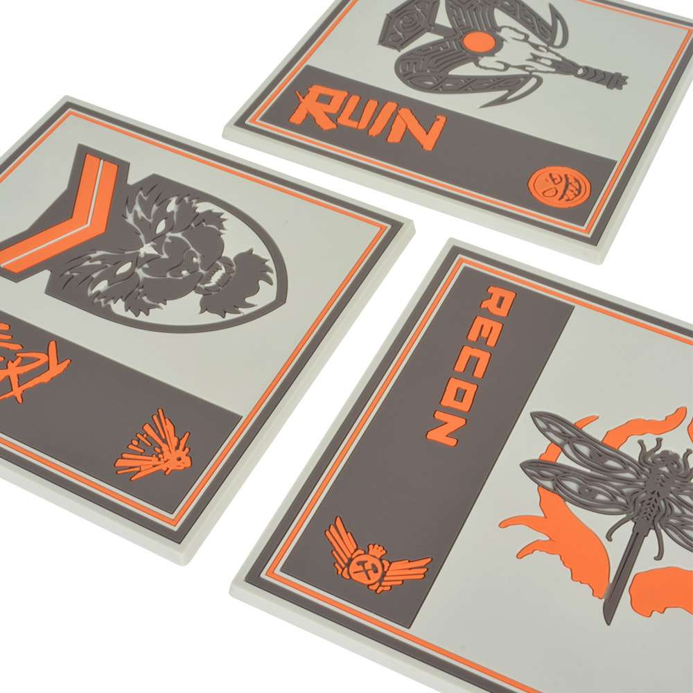 Call of Duty Black Ops 4 Silicon Coasters