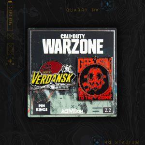 Pin Kings Call of Duty Warzone Enamel Pin Badge Set 2.2