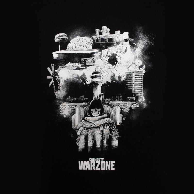 Call Of Duty Warzone Skull T-Shirt