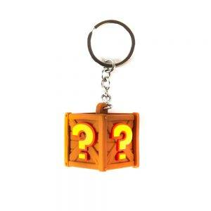 Crash Team Racing Nitro-Fueled Crate Keyring / Keychain