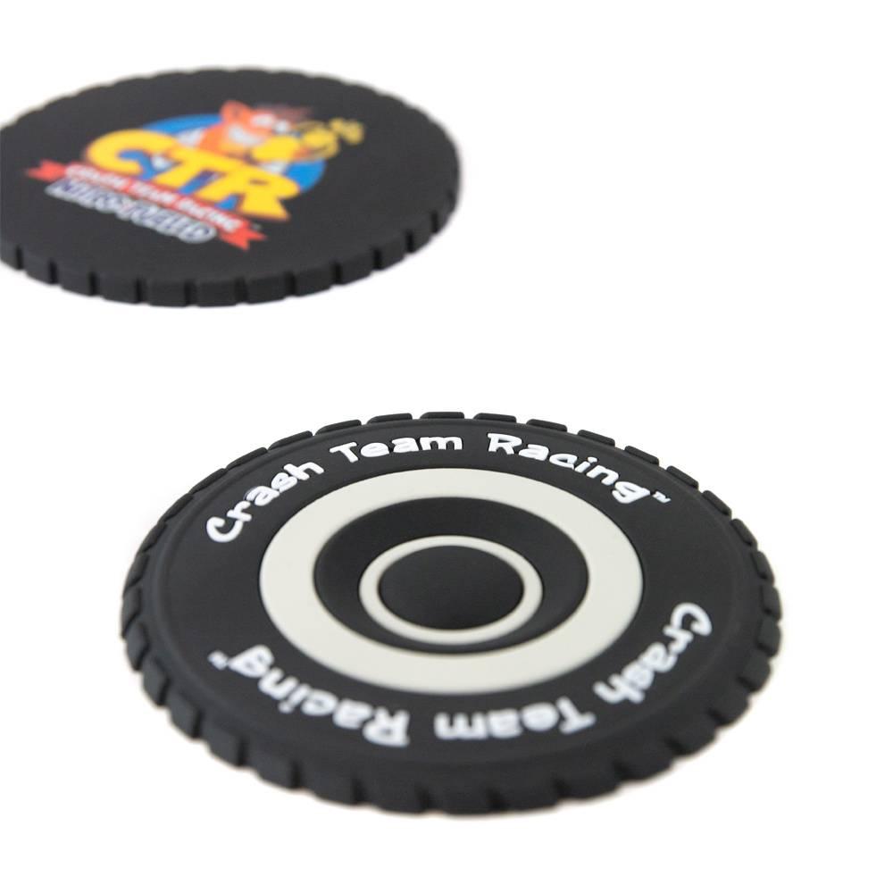 Crash Team Racing Nitro-Fueled Tyre Coaster Set