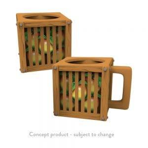 Crash Team Racing Nitro-Fueled Wumpa Fruit Crate Mug