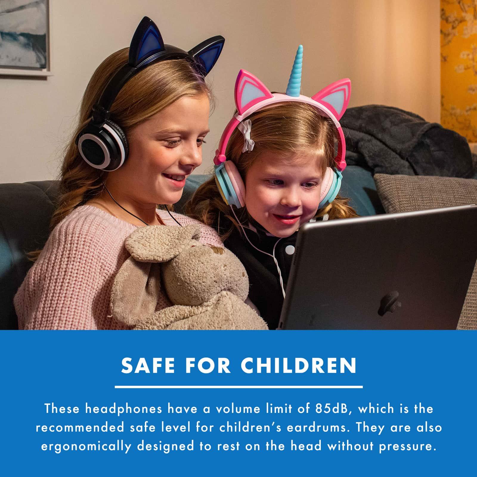 Numskull Kids Cat Headphones / Headset