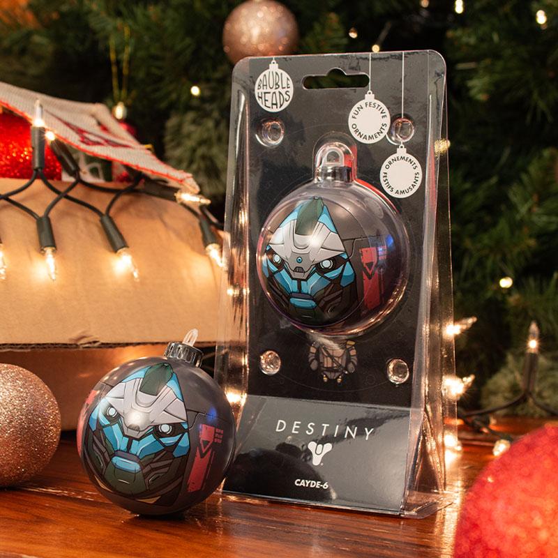 Bauble Heads Destiny 'Cayde-6' Christmas Decoration / Ornament