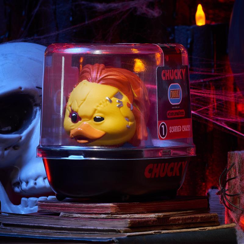 Chucky Scarred Chucky TUBBZ Cosplaying Duck Collectible