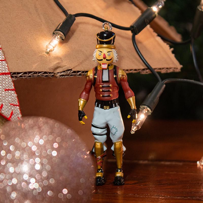 Official Fortnite 'Crackshot' 3D Christmas Decoration / Ornament