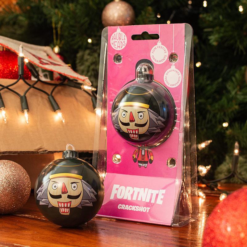 Bauble Heads Fortnite 'Crackshot' Christmas Decoration / Ornament