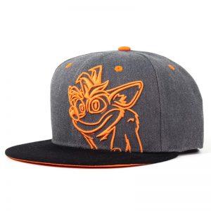 Crash Bandicoot Embroidered Crash Snapback