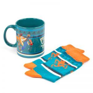 Crash Bandicoot Gift Set – Mug/Socks