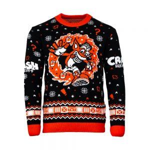 Official Crash Bandicoot N.Sanity Christmas Jumper / Ugly Sweater