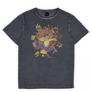 Crash Bandicoot Oil Wash Crash T-Shirt