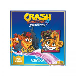 Pin Kings Crash Bandicoot Enamel Pin Badge Set 1.1 – Crash and Coco