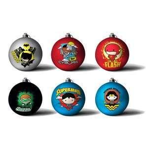 DC Comics 'Chibbi' Christmas Decorations / Ornaments