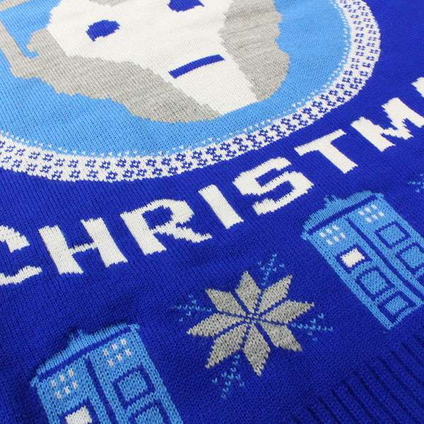 Doctor Who Cyberman Christmas Jumper / Ugly Sweater