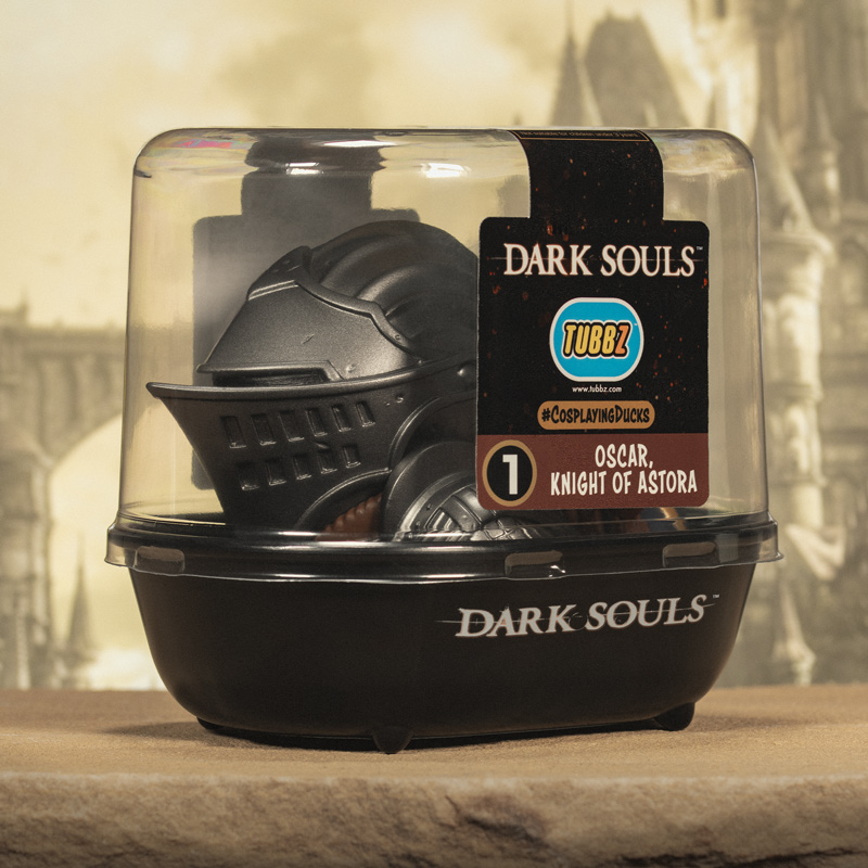 Dark Souls Oscar Knight Of Astora TUBBZ Cosplaying Duck Collectible