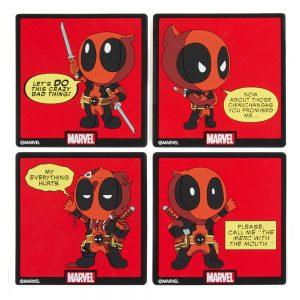 Deadpool Coast Pack (Set of 4)