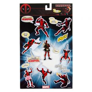 Deadpool Fridge Magnets (Set of 8)