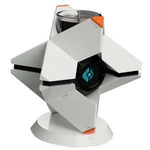 Destiny 2 Ghost Candle Holder and Scented Candles