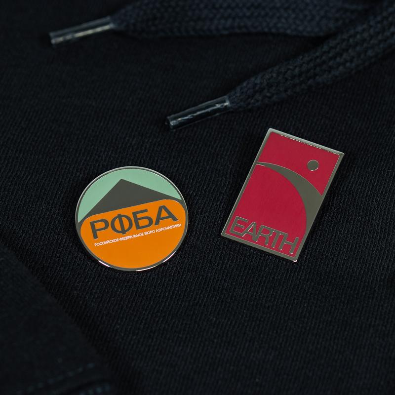 Pin Kings Destiny Enamel Pin Badge Set 1.5 – PФБA and Earth