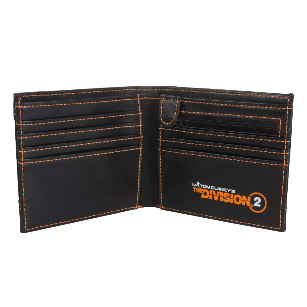 Tom Clancy's The Division 2 Metal Badge Wallet