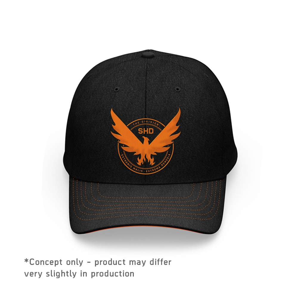 Tom Clancy's The Division 2 Phoenix Curved Bill Snapback