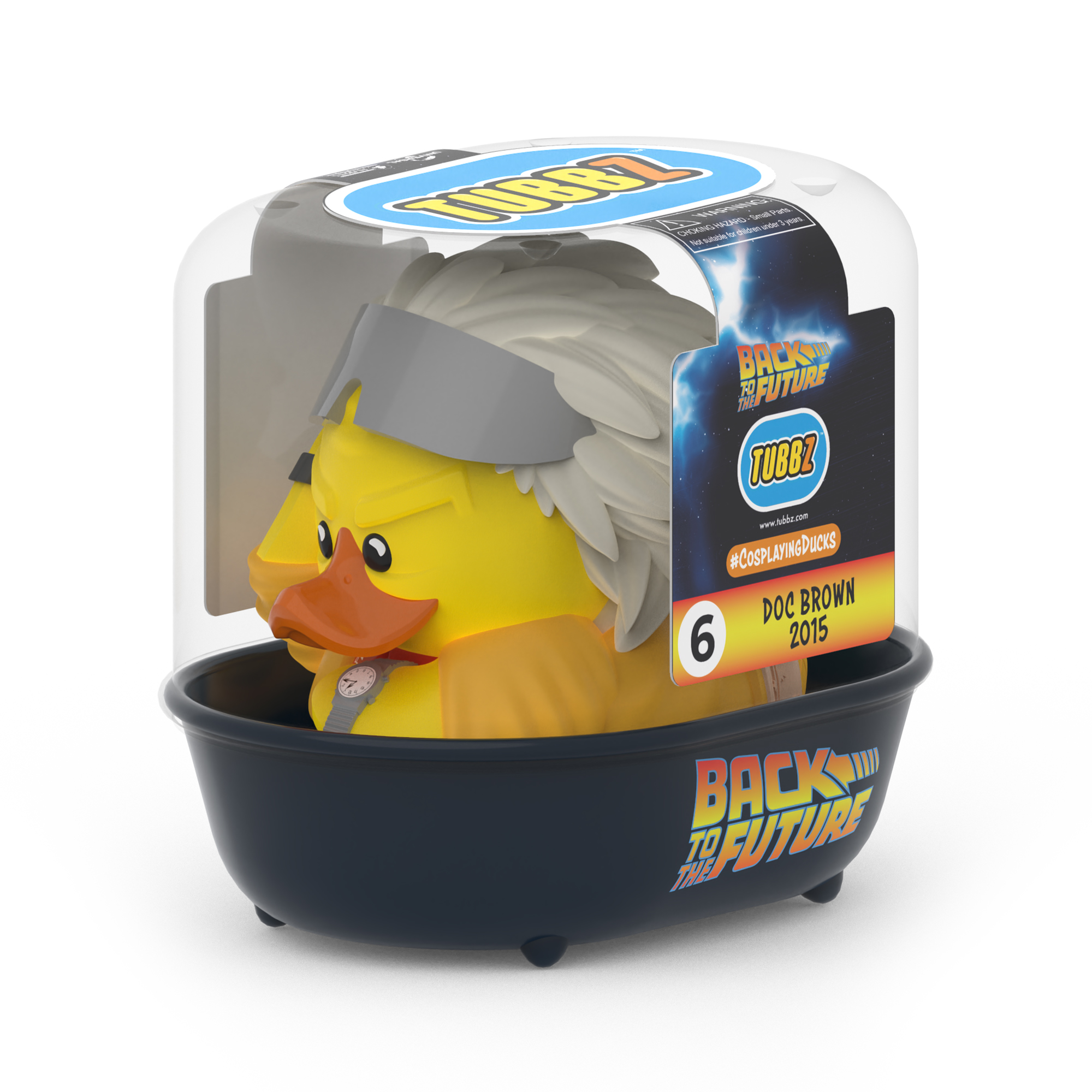 Back To The Future Doc Brown 2015 TUBBZ Cosplaying Duck Collectible