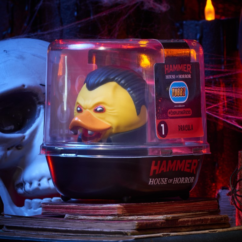 Horror Dracula TUBBZ Cosplaying Duck Collectible