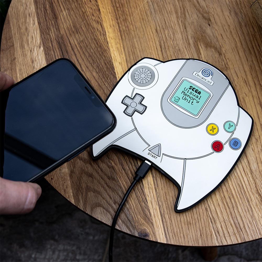 Official SEGA Dreamcast Hand Controller Wireless Charging Mat