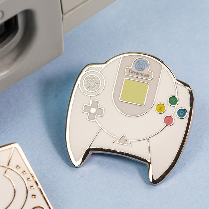 Pin Kings SEGA Console Enamel Pin Badge Set 1.3 – Dreamcast