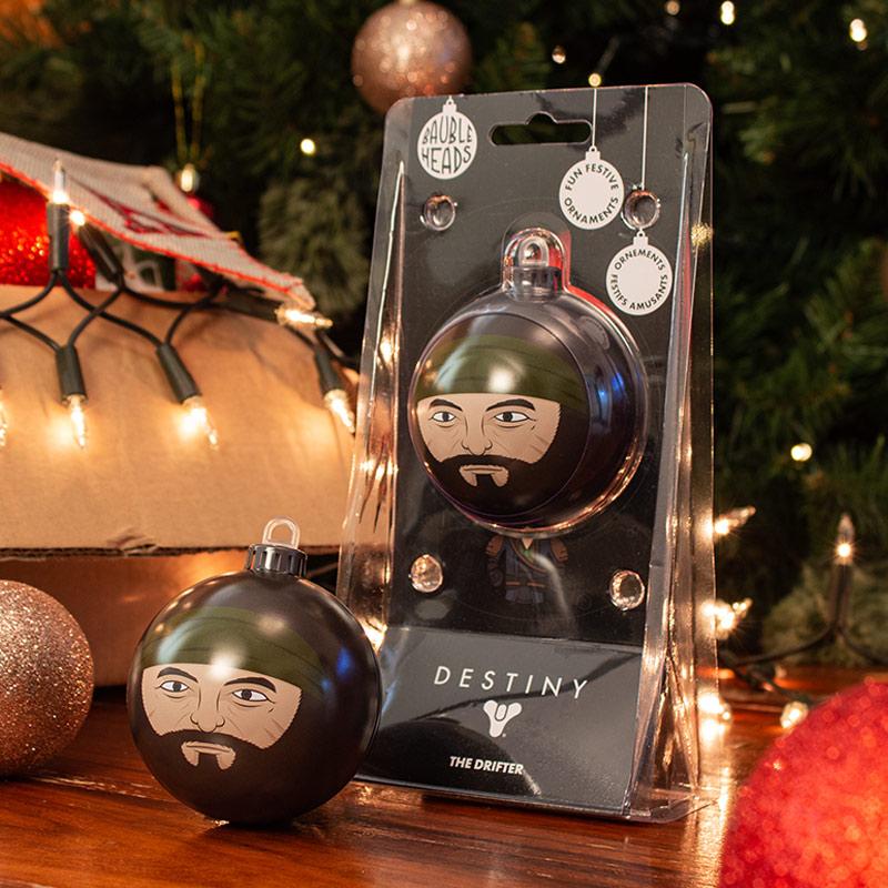 Bauble Heads Destiny 'The Drifter' Christmas Decoration / Ornament